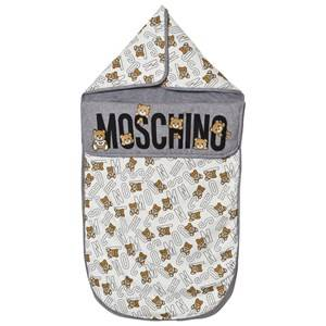 Moschino Kid-Teen Unisex Bedding Grey Grey Bear Print Nest