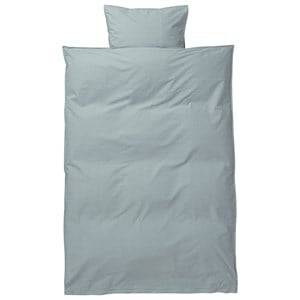 ferm LIVING Unisex Bedding Blue Hush Bedding - Dusty Blue Junior Set