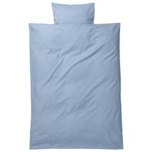ferm LIVING Unisex Bedding Blue Hush Bedding - Light Blue Junior Set