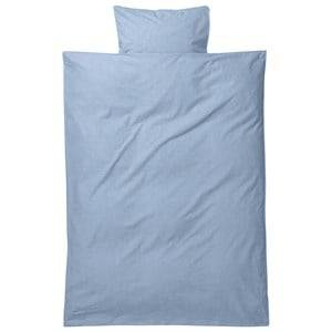 ferm LIVING Unisex Bedding Blue Hush Bedding - Light Blue Baby Set