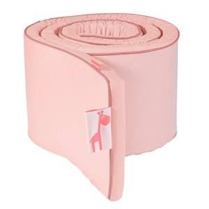 Done by Deer Girls Bedding Pink Candyfloss Bed Bumper Powder