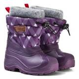 Reima Girls Boots Purple Ivalo Winter Boots Deep Violet