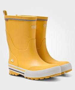 Viking Unisex Childrens Shoes Boots Yellow Jolly Rain Boots Yellow