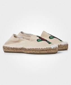 OAS Unisex Childrens Shoes Shoes White Cactus Espadrilles