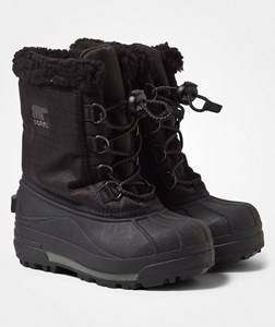 Sorel Unisex Childrens Shoes Boots Black Childrens Cumberland™ Boots Black