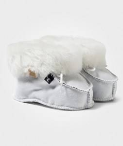 Shepherd Unisex Childrens Shoes Boots White Gävle Slippers Nature