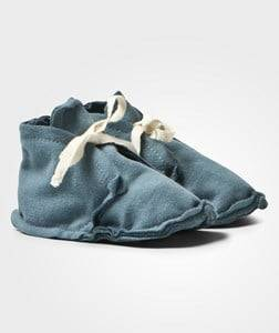Gray Label Unisex Boots Blue Baby Raw Edged Booties Denim