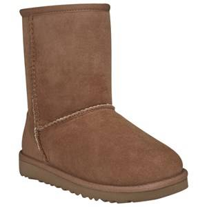 UGG Unisex Childrens Shoes Boots Brown T Classic Chestnut Short model