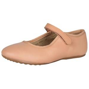 Bisgaard Girls Childrens Shoes Shoes Pink Ballerina Flats Nude
