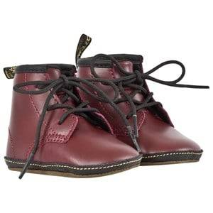 Dr. Martens Unisex Childrens Shoes Boots Red Auburn Cherry Red