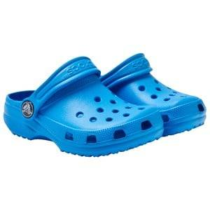 Crocs Unisex Childrens Shoes Sandals Blue Classic Kids Ocean