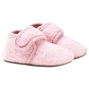 Celavi Girls Childrens Shoes Slippers Pink Wool Baby Shoes Pink