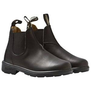 Blundstone Unisex Childrens Shoes Boots Black Blunnies Black Full Grain Leather Boots