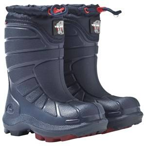 Viking Unisex Childrens Shoes Boots Blue Extreme Boot Navy/Red