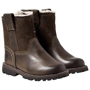 Timberland Unisex Childrens Shoes Boots Brown Chestnut Ridge Warm Brindle
