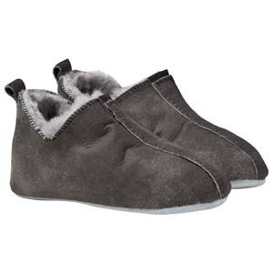 Shepherd Unisex Childrens Shoes Slippers Grey Viared Slippers Antique/Grey