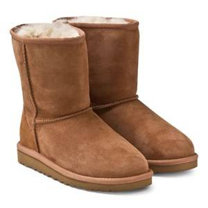 UGG Unisex Childrens Shoes Boots Brown Classic Chestnut Big Size