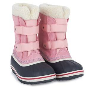 Sorel Unisex Childrens Shoes Boots Pink Pac Strap Coral Pink