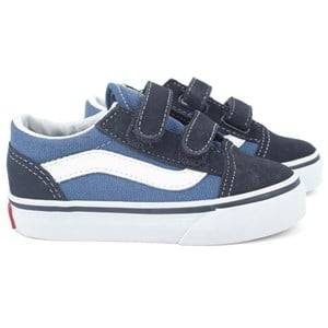 Vans Unisex Childrens Shoes Sneakers Navy Old Skool V Navy