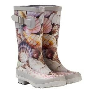 Molo Girls Boots Multi Sigvardt Wellies Sea Treasure