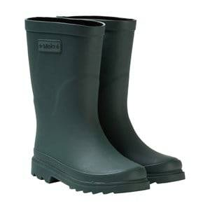 Molo Unisex Boots Green Strong Wellies Metal Green