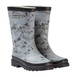 Molo Unisex Boots Grey Strong Wellies Mojave Race