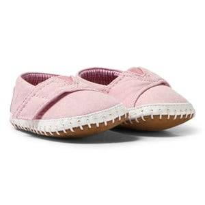 Toms Girls Shoes Crib Alpargatas Pink Canvas
