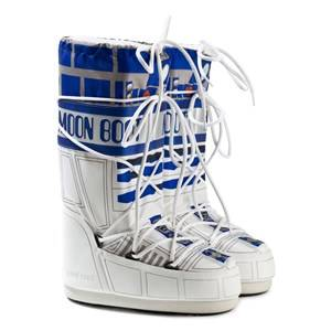 Moon Boot Boys Boots White White Star Wars R2-D2 Moon Boots