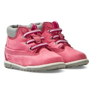 Timberland Girls Boots Pink Classic Pink Booties