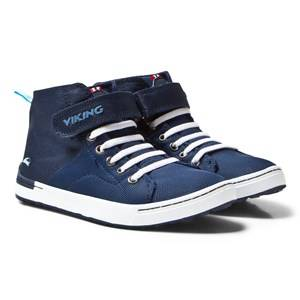 Viking Unisex Sneakers Frogner MID Navy/White