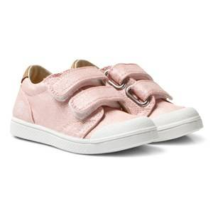 10-IS Girls Sneakers Pink Pink Shine TEN V 2 Velcro Shoes