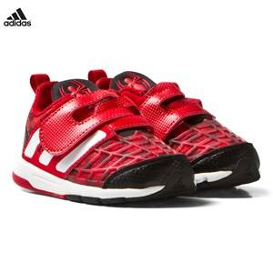 adidas Boys Sneakers Red Marvel Infants Spiderman Trainers