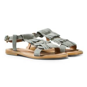Bisgaard Girls Sandals Grey Sandals Dust