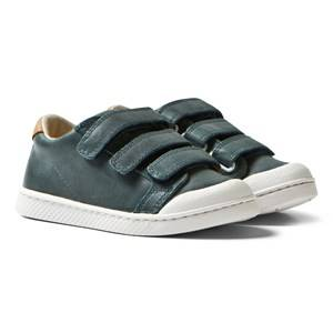10-IS Boys Sneakers Blue Blue Apple TEN C LO 3 Velcro Shoes