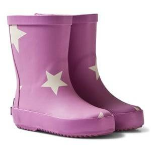 Ticket to heaven Unisex Boots Pink Rubber Boots Violet Rose