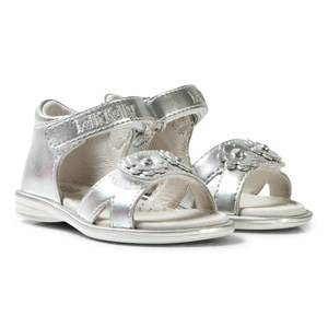 Lelli Kelly Girls Sandals Silver Silver Sabrina Floral Sandals