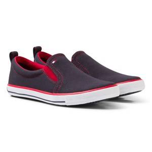 Tommy Hilfiger Boys Sneakers Navy Navy Slip On Trainer