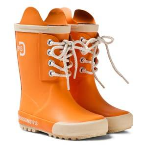 Didriksons Unisex Boots Orange Splashman Kid
