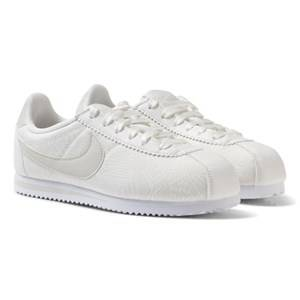 NIKE Girls Sneakers White Cortez Kids Trainers White