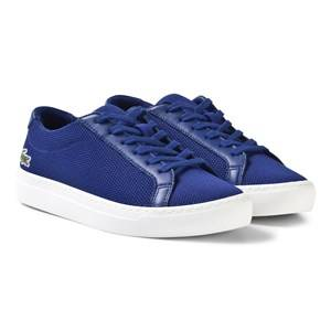 Lacoste Unisex Sneakers Blue L.12.12 Texturized Piqué Canvas Sneakers Blue