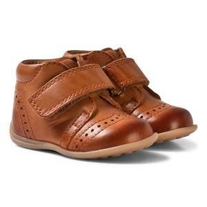 Bisgaard Unisex Shoes Brown Prewalker Cognac