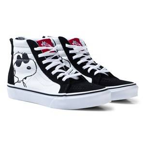 Vans Unisex Shoes Black Vans X Peanuts UY SK8-Hi Reissue Shoes Joe Cool Black
