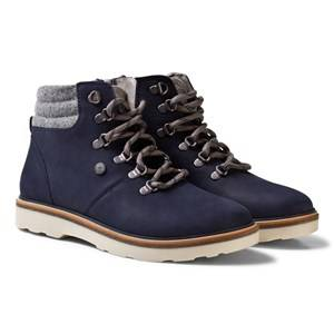 Mayoral Boys Boots Navy Navy Lace Up Leather Boots