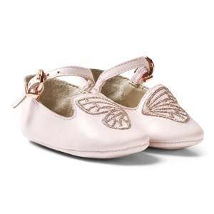 Sophia Webster Mini Girls Shoes Pink Pink Bibi Butterfly Crib Shoes