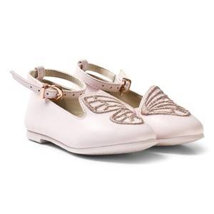 Sophia Webster Mini Girls Shoes Pink Pink Bibi Butterfly Shoes
