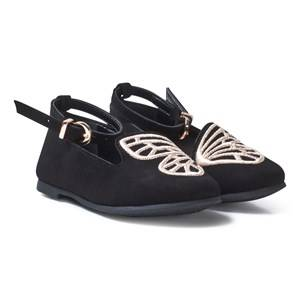 Sophia Webster Mini Girls Shoes Black Black Bibi Butterfly Shoes