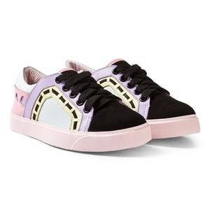 Sophia Webster Mini Girls Sneakers Multi Riko Low-Tops Pastel