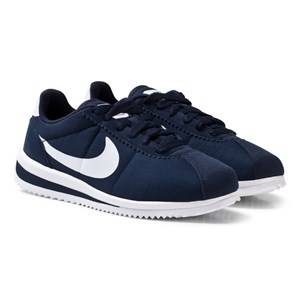 NIKE Boys Sneakers Black Cortez Ultra Junior Shoe Obsidian