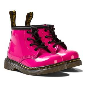 Dr. Martens Girls Boots Pink Infant Brooklee B Patent Boots