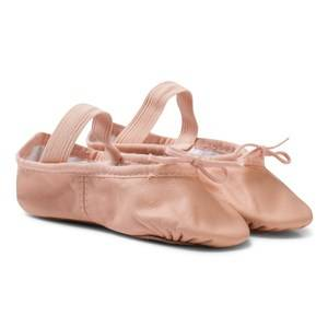 Bloch Girls Shoes Pink Pink Arise Leather Full Sole Ballet Shoes